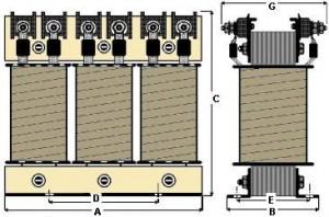 trasformatori trifase